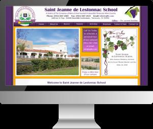 St Jeanne de Lestonnac